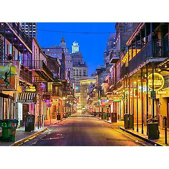 Fondo de pantalla Mural Bourbon Street Nueva Orleans