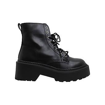Steve Madden Kvinder's Sko Slasher Lukket Tå Ankel Combat Boots