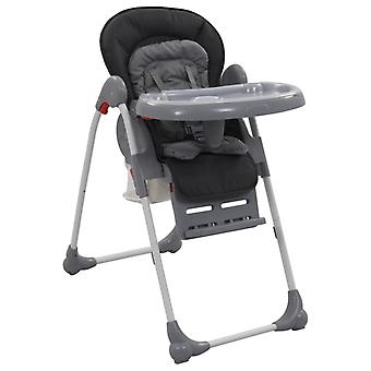 vidaXL Baby High Chair Grey