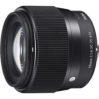 56Mm f1.4 dc dn | c- for ef-m mount