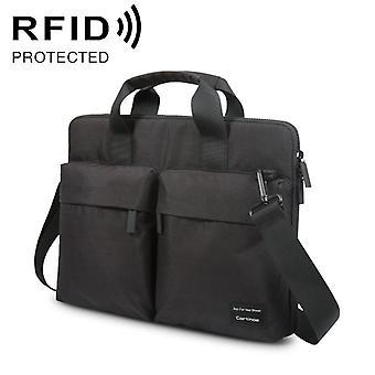 Cartinoe 13 pouces ANTI-RFID Fashion Confortable Sac portable respirant polyester avec poignée & amp; Bandoulière (Noir)