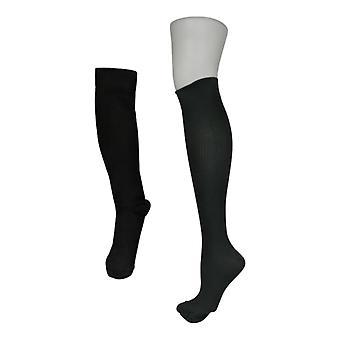 Legacy Men's L Gradua Compression Socks Set of 2 Black / Gray
