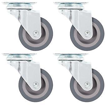 vidaXL 16 kpl kääntyvät pyörät 50 mm