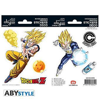 Dragon Ball - Dbz / Goku-Vegeta Mini Klistermärken