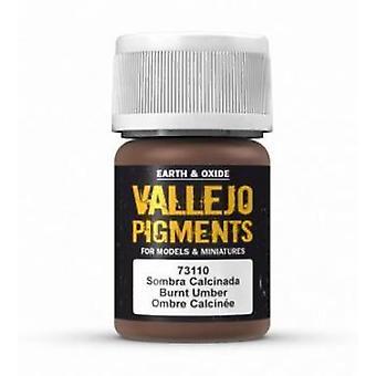 VAL73110 Vallejo Pigment - Burnt Umber