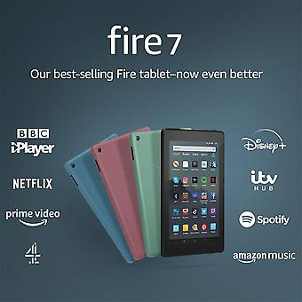 "Certified refurbished fire 7 tablet | 7"" display, 32 gb, with special offers, black"