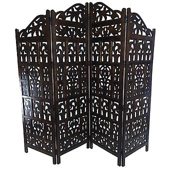 Wooden Folding Partition Room Divider Screen Gamla