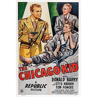 Die Chicago Kid uns Poster Art Don Red Barry Otto Kruger Lynne Roberts 1945 Film Poster Masterprint
