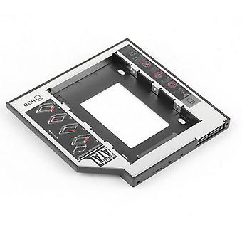 Hdd Caddy Sata Interface Aluminum Material 3.0 Hard Disk Drive Box  (black)