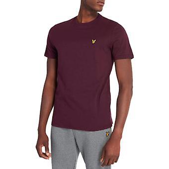 Lyle & Scott T-Shirt Burgund 36