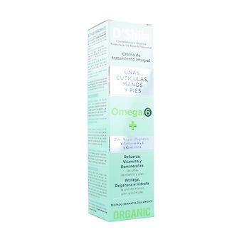 Omega 6 Hand, Nail, Cuticles and Feet Cream 250 ml of cream