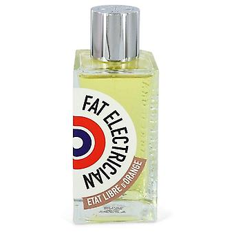 Fat Electrician Eau De Parfum Spray (Tester) By Etat Libre d'Orange 3.38 oz Eau De Parfum Spray