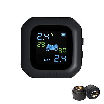 Moto waterproof cordless tpms motorcycle tire pressure monitoring system