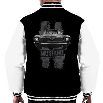 フォード マスタング ストライプ メン &アポ;s ヴァーシティ ジャケット