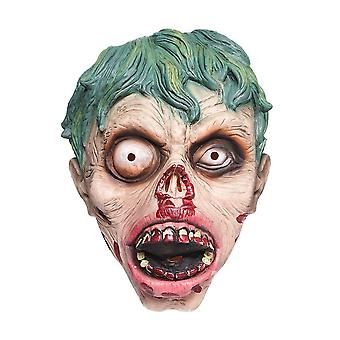 Halloween Mask Horror Rotten Face Zombie Latex Mask Party Trick Haunted House Props