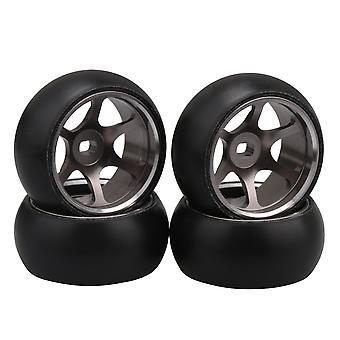 4x Titanium 6 Spoke Wheel Hub Remplacement des pneus pour WL K969 P929 RC 1:28