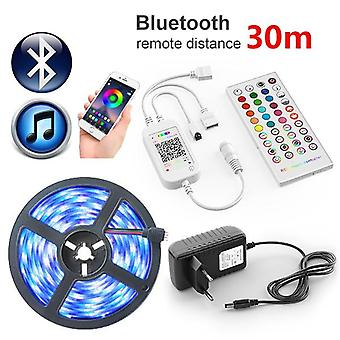 Led Strip Light Rgb, Flexible Ribbon, Tape Diode, Bluetooth Control