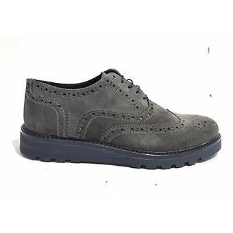 Мужская обувь Tony Wild Francesina Brogue Замша Кожа Серый U18tw11
