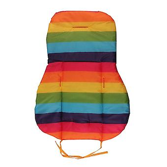 Baby Thickness Cheap Rainbow Stroller Mat - Child Cart Seat Cushion