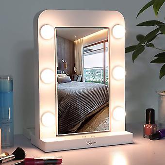 Wokex Schminkspiegel mit Beleuchtung, Hollywood-Spiegel mit Licht dimmbarER LED Kosmetikspiegel