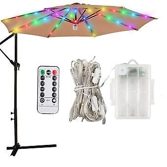Sateenvarjo lampun luova valaistus koristelu