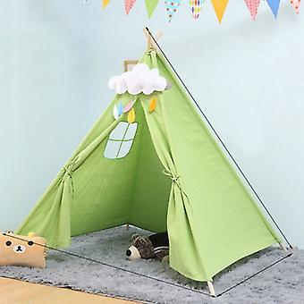 Children& s غرفة الأميرة خيمة داخلية لعب البيت للطي لعبة خيمة, الحجم:1.35m (الأخضر)