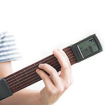 Pocket Guitar Wood +muovi Kannettava Näyttö Näyttö Sormiliivmies