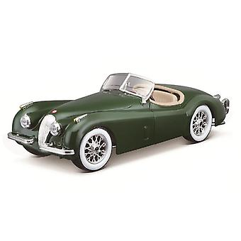 1951 Jaguar 120 Roadster legering racewagen (Groen)