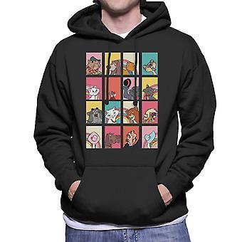 Disney The Aristocats Character Montage Men's Hooded Sweatshirt
