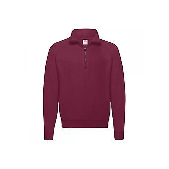 Fruit Of The Loom Classic 80/20 Zip Neck Sweatshirt 62114