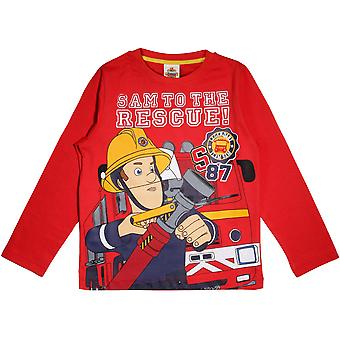 Fireman Sam Boys To The Rescue Long-Sleeved T-Shirt