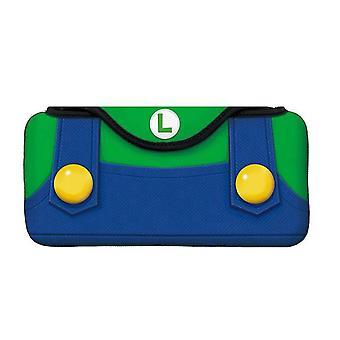 Bärbart fodral för Nintendo Switch Soft Carrying Storage Bag Ny (grön)