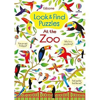 Look and Find Puzzles At the Zoo