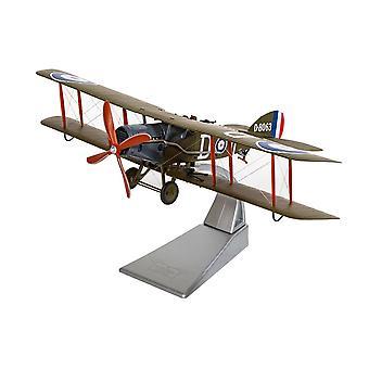 Bristol F2B Fighter D-8063 RAF No .139 (Squadron Villaverla Italy Sept 1918) Diecast Model Airplane