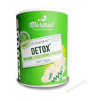 Havøkning detox, spirulina wakame ingefær, vegansk 100 g pulver