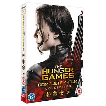The Hunger Games - Complete Collection DVD