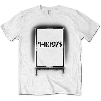 The 1975 - Black Tour Men's X-Large T-Shirt - White