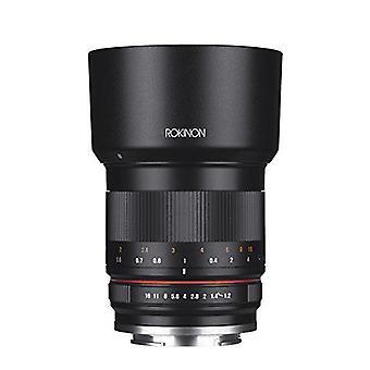 Rokinon rk50m-fx 50mm f1.2 as umc high speed lens lens for fuji (black)