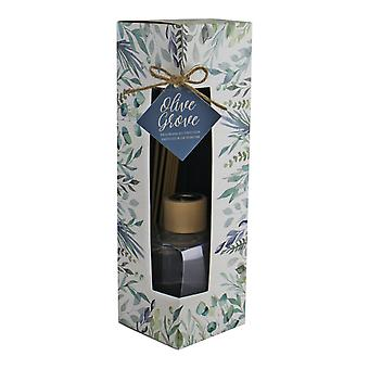 Olive Grove Fragrance Diffuser With Reeds, 100ml