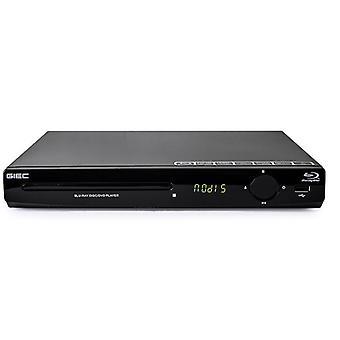 Blu-ray Player Hd DVD, Cd Portable Multimedia, Suporte a TV Digital