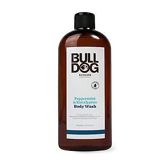 Bulldog Natural Skincare Body Wash Peppermint Eucalyptus, 16.9 Oz