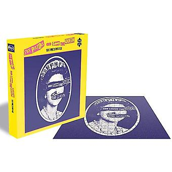 Sex Pistols God Save The Queen Jigsaw Puzzle (500 Pieces)
