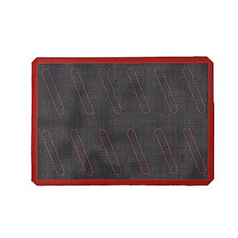 Silicone Baking Mat Non-stick Oven Liner Perforated Steaming Mesh Pad Baking Sheet(12 Rings Cut