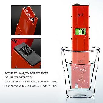 Digitale Ph Meter Tester Nauwkeurige Lcd Test Pen Voor Aquarium Zwembad Laboratorium