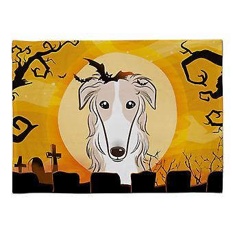 Caroline's Treasures BB1786PLMT Halloween Borzoi Stoff Tischset, Multicolor