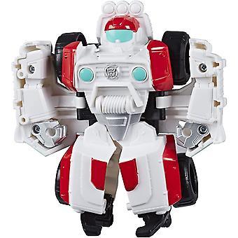 Playskool Heroes Rescue Bots Academy Medix der Arzt-Bot, verwandelbares Spielzeug, 11 cm große