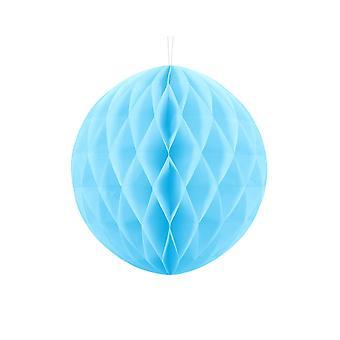 30cm Light Blue Tissue Paper Honeycomb Ball Wedding Party Decoration