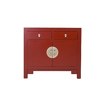 Hieno aasialainen kaappi Ruby Red - Orientique Collection W90xD40xH80cm