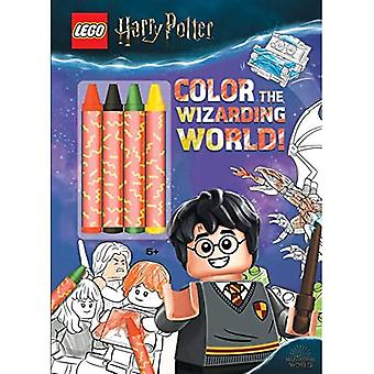 Lego(r) Harry Potter(tm): Color the Wizarding World (Coloring Books with Covermount)