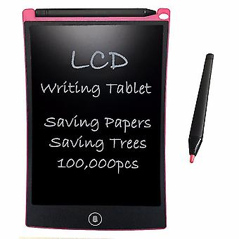 8.5'' Pink lcd writing tablet digital drawing graphic tablets electronic handwriting pad board with